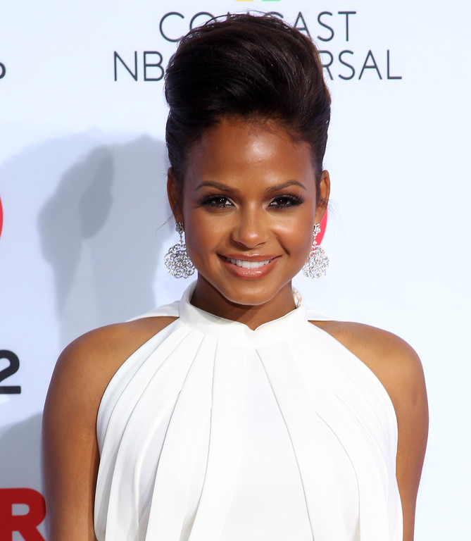 . Christina Milian arrives at the NCLR ALMA Awards at the Pasadena Civic Auditorium on Friday, Sept. 27, 2013, in Pasadena, Calif. (Photo by Paul Hebert/Invision/AP)