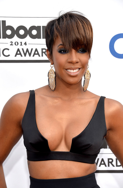 . Singer Kelly Rowland attends the 2014 Billboard Music Awards at the MGM Grand Garden Arena on May 18, 2014 in Las Vegas, Nevada.  (Photo by Frazer Harrison/Getty Images)