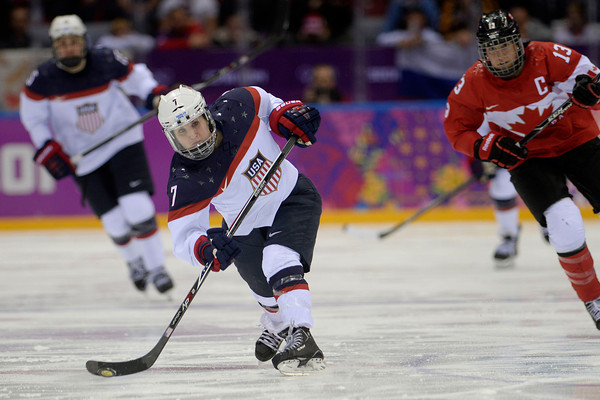 PHOTOS: Women's Ice Hockey, United States v. Canada, at Sochi 2014 Winter Olympics