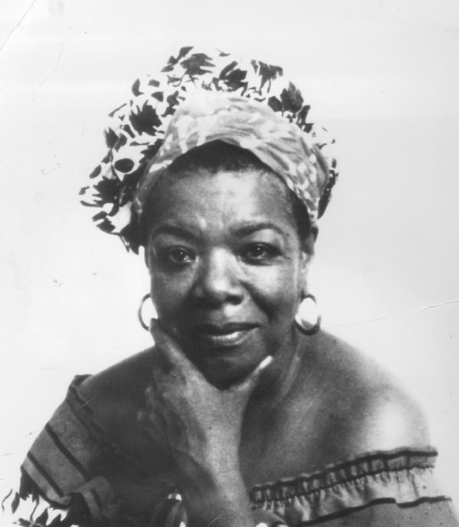 . Maya Angelou, 1990. Denver Post Library photo archive