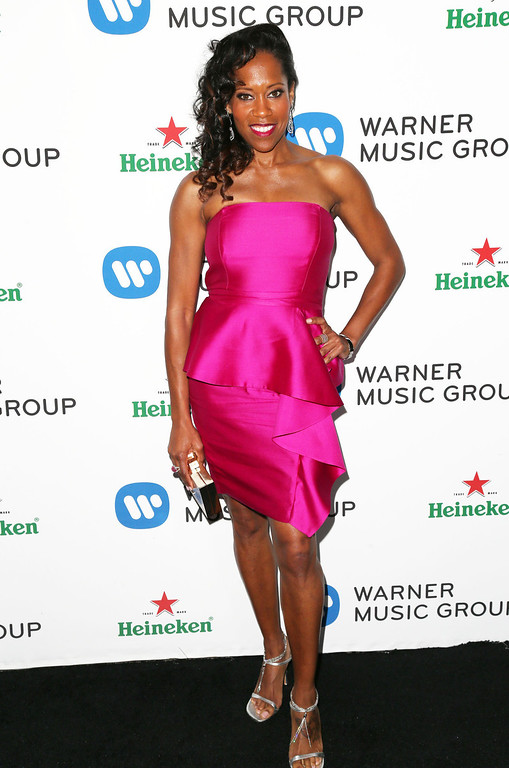 . Actress Regina King attends Warner Music Group Hosts Annual Grammy Celebration at the Sunset Tower Hotel on January 26, 2014 in West Hollywood, California.  (Photo by Frederick M. Brown/Getty Images)