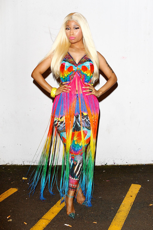 . Nicki Minaj attends the 26th Annual ARIA Awards 2012 at the Sydney Entertainment Centre on November 29, 2012 in Sydney, Australia.  (Photo by Caroline McCredie/Getty Images)
