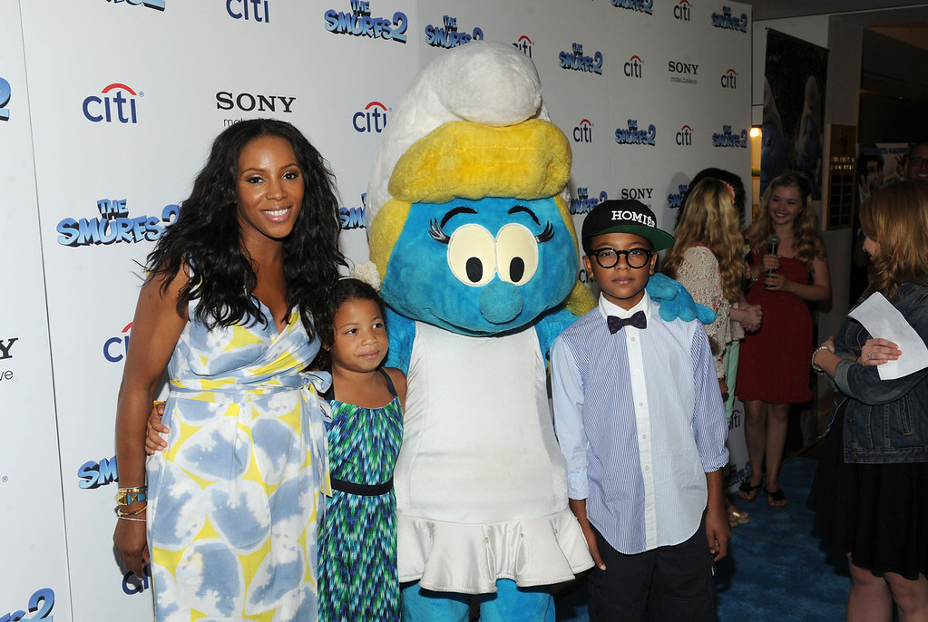 """. June Ambrose attends \""""The Smurfs 2\"""" New York Blue Carpet Screening at Lighthouse International Theater on July 28, 2013 in New York City.  (Photo by Craig Barritt/Getty Images)"""