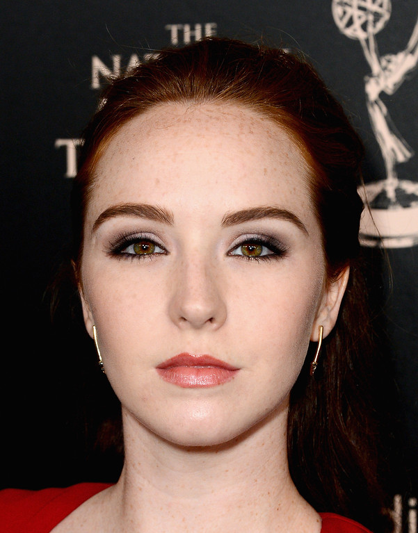 . Actress Camryn Grimes attends The 40th Annual Daytime Emmy Awards at The Beverly Hilton Hotel on June 16, 2013 in Beverly Hills, California.  (Photo by Mark Davis/Getty Images)