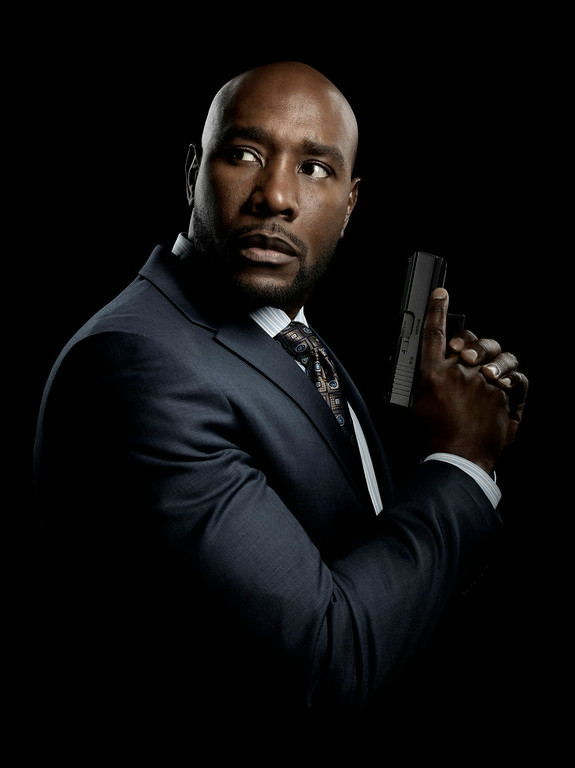 . Morris Chestnut in TNT\'s summer mystery drama �Legends,� about an undercover agent who may not be the person he believes himself to be. (Photo by Marco Grob/TNT)