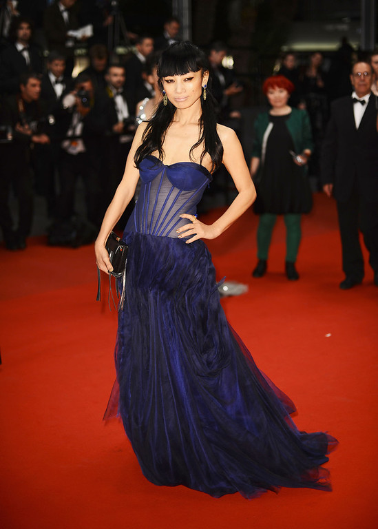 . Actress Bai Ling attends the \'Borgman\' Premiere during the 66th Annual Cannes Film Festival at the Palais des Festivals on May 19, 2013 in Cannes, France.  (Photo by Ian Gavan/Getty Images)