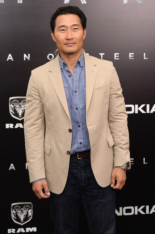 """. Actor Daniel Dae Kim attends the \""""Man Of Steel\"""" world premiere at Alice Tully Hall at Lincoln Center on June 10, 2013 in New York City.  (Photo by Andrew H. Walker/Getty Images)"""