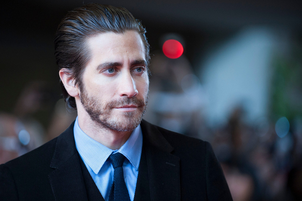 ". Actor Jake Gyllenhaal arrives at the premiere of ""Enemy\"" on day 4 of the 2013 Toronto International Film Festival at the Ryerson Theatre on Sunday, Sept. 8, 2013 in Toronto. (Photo by Arthur Mola/Invision/AP)"