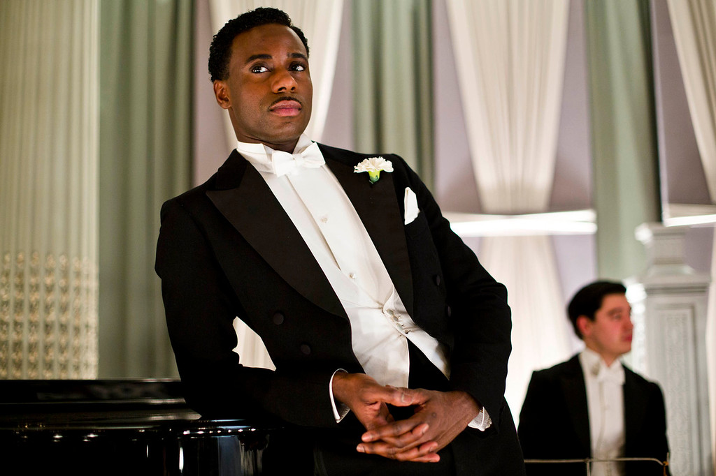 """. Gary Carr as Jack Ross. The fourth season of \""""Downton Abbey\"""", set in 1922, sees the return of our much loved characters. As they face new challenges, the Crawley family and the servants who work for them remain inseparably interlinked.   (Photo by Nick Briggs/Carnival Films & Television Limited 2013 for MASTERPIECE)"""