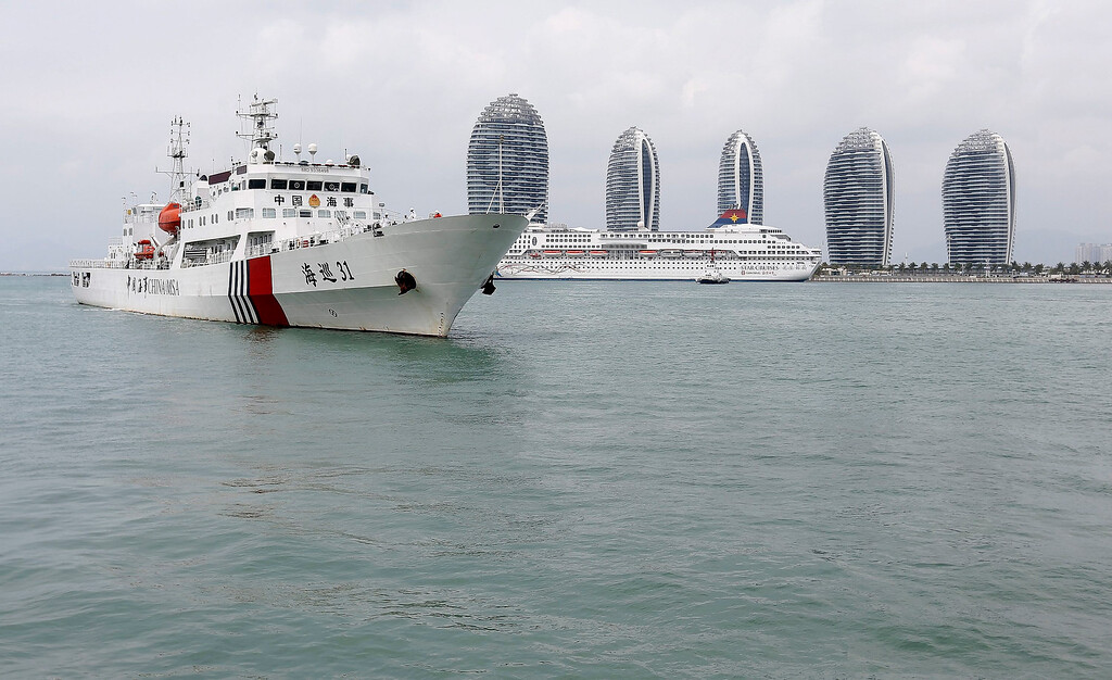 . The MSA ship Haixun-31 of China\'s Maritime Safety Administration leaves the port after a brief stop for supplies in Sanya in south China\'s Hainan province, 09 March 2014. A total of 22 aircraft and 40 ships are combing the South China Sea to locate a Malaysia Airlines passenger jet with 239 people on board that was missing and feared crashed at sea, a senior military official said. Malaysia Airlines flight MH370 with 239 people on board went missing early 08 March 2014 while on its way from Kuala Lumpur to Beijing, Airline officials said.  EPA/GU FENG