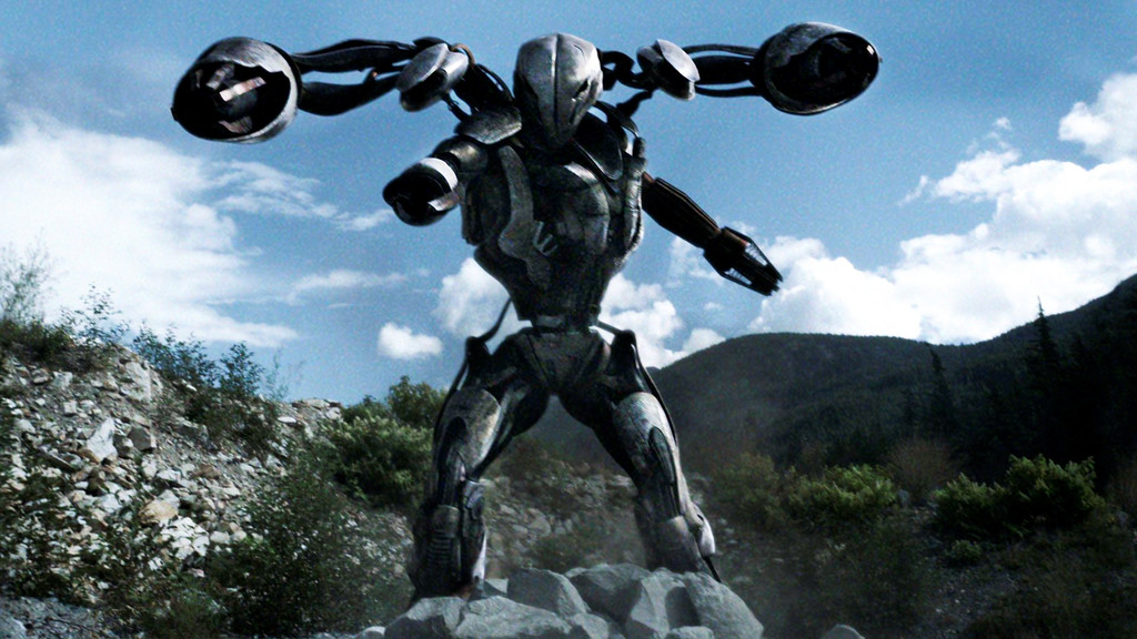 . A new alien enemy arises in the form of a Mega Mech.  Photo Credit: Courtesy of TNT