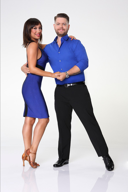 ". DANCING WITH THE STARS - CHERYL BURKE & JACK OSBOURNE - Jack Osbourne partners with Cheryl Burke. ""Dancing with the Stars\"" returns for Season 17 on MONDAY, SEPTEMBER 16 (8:00-10:01 p.m., ET), on the ABC Television Network. (ABC/Craig Sjodin)"