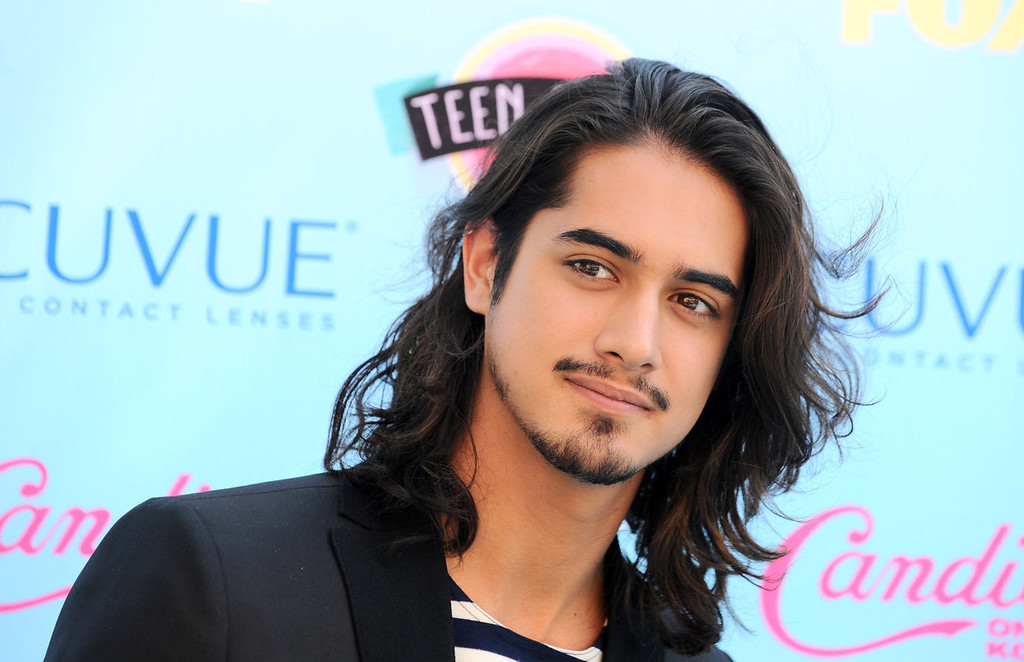 . Avan Jogia arrives at the Teen Choice Awards at the Gibson Amphitheater on Sunday, Aug. 11, 2013, in Los Angeles. (Photo by Jordan Strauss/Invision/AP)