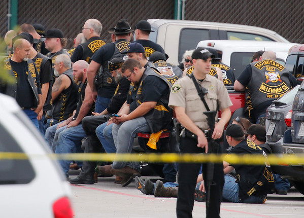 PHOTOS: Multiple victims in Waco, Texas biker gang shooting