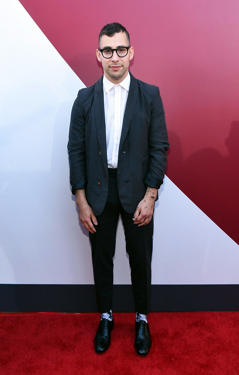 . Musician Jack Antonoff of Bleachers and fun. attends the 2014 MTV Video Music Awards at The Forum on August 24, 2014 in Inglewood, California.  (Photo by Larry Busacca/Getty Images for MTV)