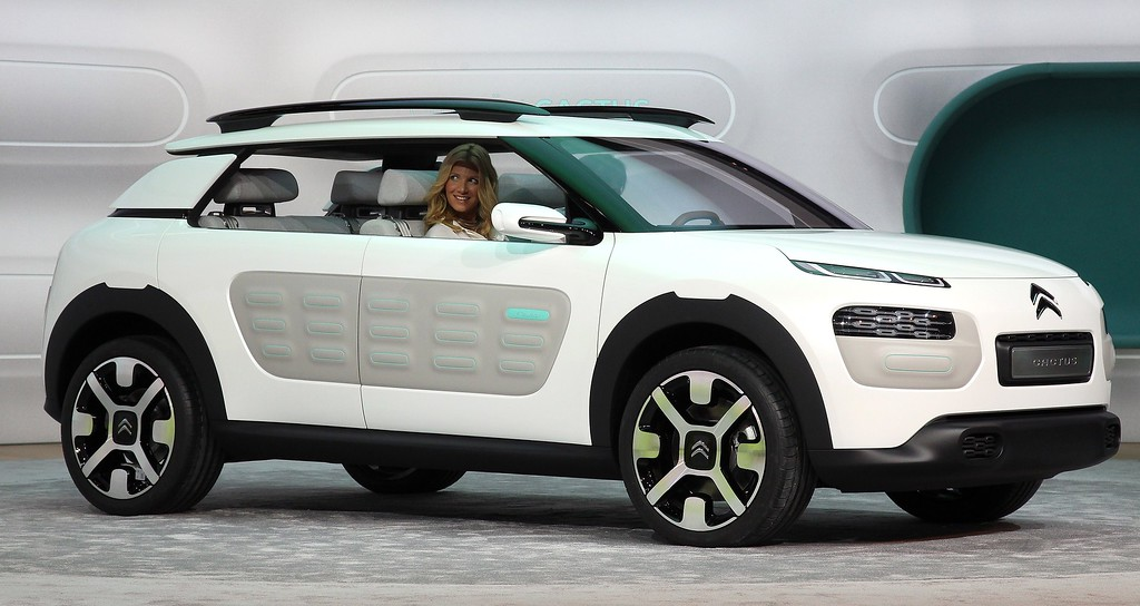 . The new Citroen Cactus concept car is presented during the media day of the IAA (Internationale Automobil Ausstellung) international motor show in Frankfurt am Main, western Germany, on September 10, 2013.  AFP PHOTO / DANIEL ROLAND/AFP/Getty Images
