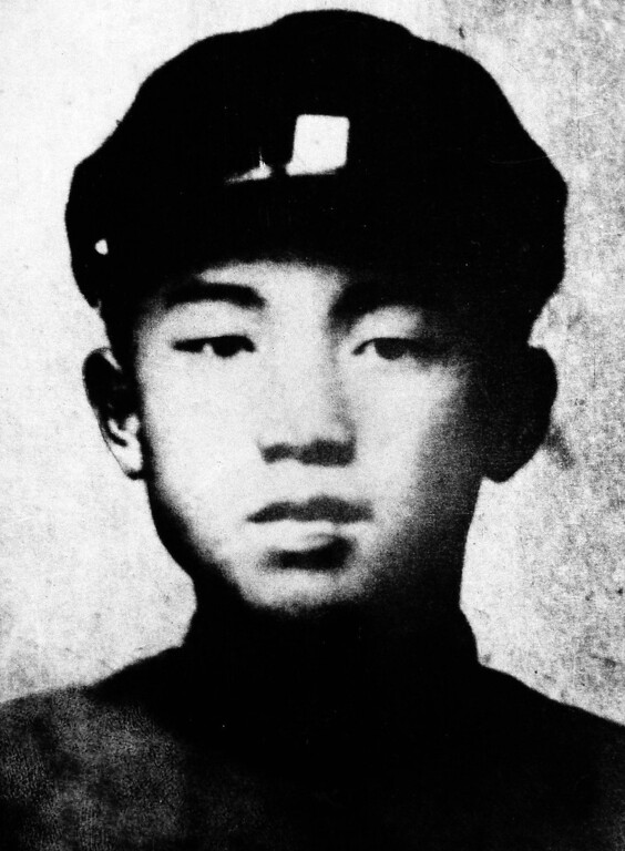 . Comrade Kim Il Sung at the age of 16 in 1928. (AP Photo)