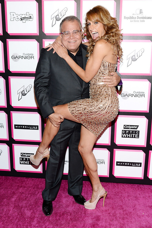 . Editor of People en Espanol Armando Correa and TV personality Lili Estefan attend People En Espanol\'s 50 Most Beautiful 2013 at Marquee on May 13, 2013 in New York City.  (Photo by Dimitrios Kambouris/Getty Images for People en Espanol)