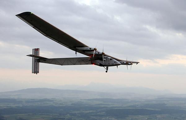 PHOTOS: Swiss-made Solar Impulse 2 makes maiden flight