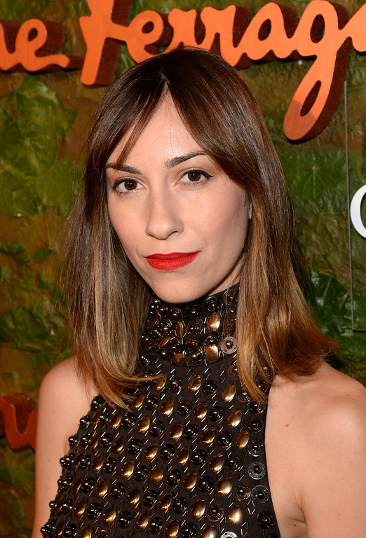 . BEVERLY HILLS, CA - OCTOBER 17:  Gia Coppola arrives at the Wallis Annenberg Center for the Performing Arts Inaugural Gala presented by Salvatore Ferragamo at the Wallis Annenberg Center for the Performing Arts on October 17, 2013 in Beverly Hills, California.  (Photo by Jason Merritt/Getty Images for Wallis Annenberg Center for the Performing Arts)