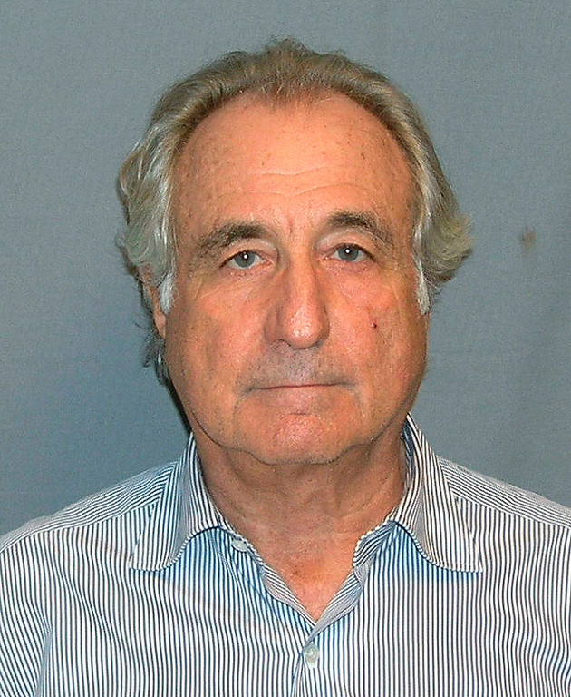. Booking mug shot of Bernard Madoff released to Reuters on March 17, 2009. Madoff pleaded guilty March 12, 2009, to orchestrating the biggest investment fraud in Wall Street history. Victims of Bernard Madoff\'s fraud will soon receive $2.48 billion to help cover their losses, more than tripling their total recovery to about $3.63 billion, the trustee liquidating the imprisoned swindler\'s firm said September 20, 2012. REUTERS/UNITED STATES MARSHALS SERVICE/FOIA