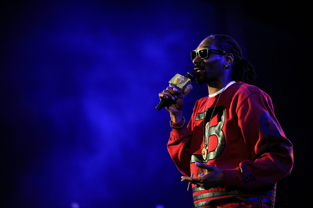 . Snoop Dogg performs at Red Rocks Amphitheater as a part of his 420 Wellness Retreat in Morrison, Colorado on April 20, 2014. (Photo by Seth McConnell/The Denver Post)