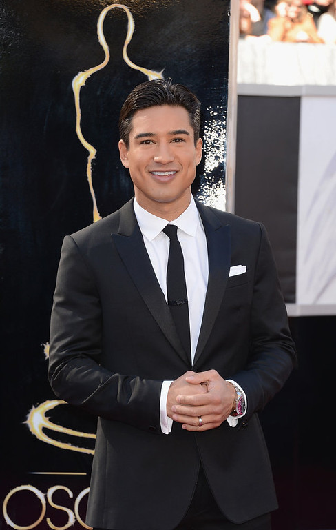 . TV personality Mario Lopez attends the Oscars at Hollywood & Highland Center on February 24, 2013 in Hollywood, California.  (Photo by Jason Merritt/Getty Images)