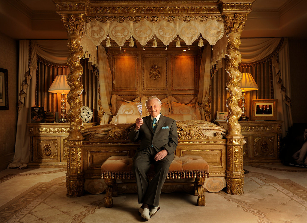 . Donald Seawell the theater impresario,  philanthropist  and publisher of The Denver Post, will be turning 100 on August 1st. Seawell spends his weekends at the home of Judi Wolf, where he was photographed  on Monday, July 23, 2012.  Cyrus McCrimmon, The Denver Post