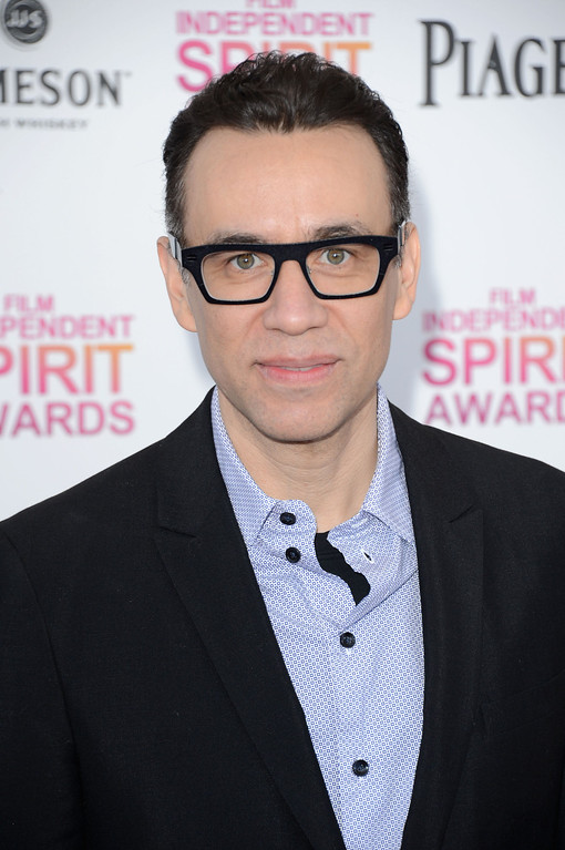 . SANTA MONICA, CA - FEBRUARY 23:  Actor Fred Armisen attends the 2013 Film Independent Spirit Awards at Santa Monica Beach on February 23, 2013 in Santa Monica, California.  (Photo by Jason Merritt/Getty Images)