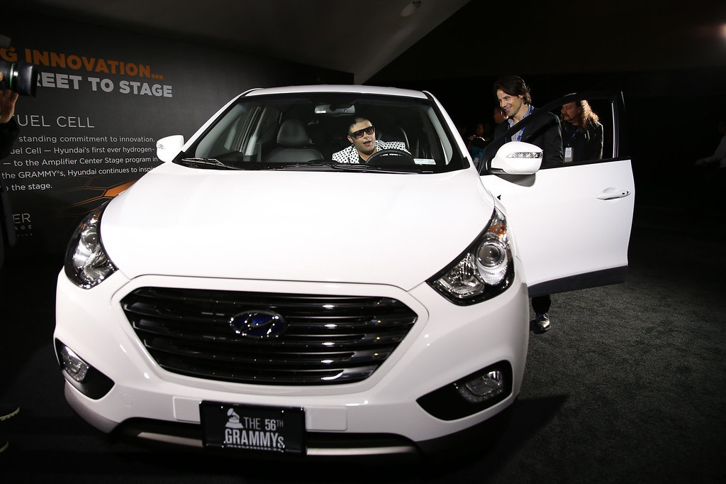 . Rapper Ricky J attends the 2014 HYUNDAI / GRAMMY\'s celebration activation at Los Angeles Convention Center on January 26, 2014 in Los Angeles, California.  (Photo by Chelsea Lauren/Getty Images for Hyundai)