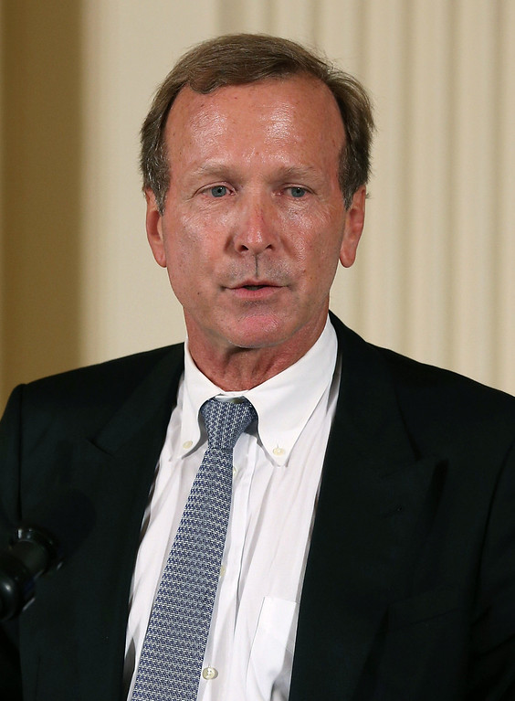 . Neil Bush speaks during an event in the East Room during an event at the White House, July 15, 2013 in Washington, DC. President Barack Obama hosted the event to honor the 5,000th Daily Point of Light Award winner.  (Photo by Mark Wilson/Getty Images)