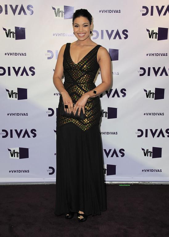 . Jordin Sparks arrives at VH1 Divas on Sunday, Dec. 16, 2012, at the Shrine Auditorium in Los Angeles. (Photo by Jordan Strauss/Invision/AP)
