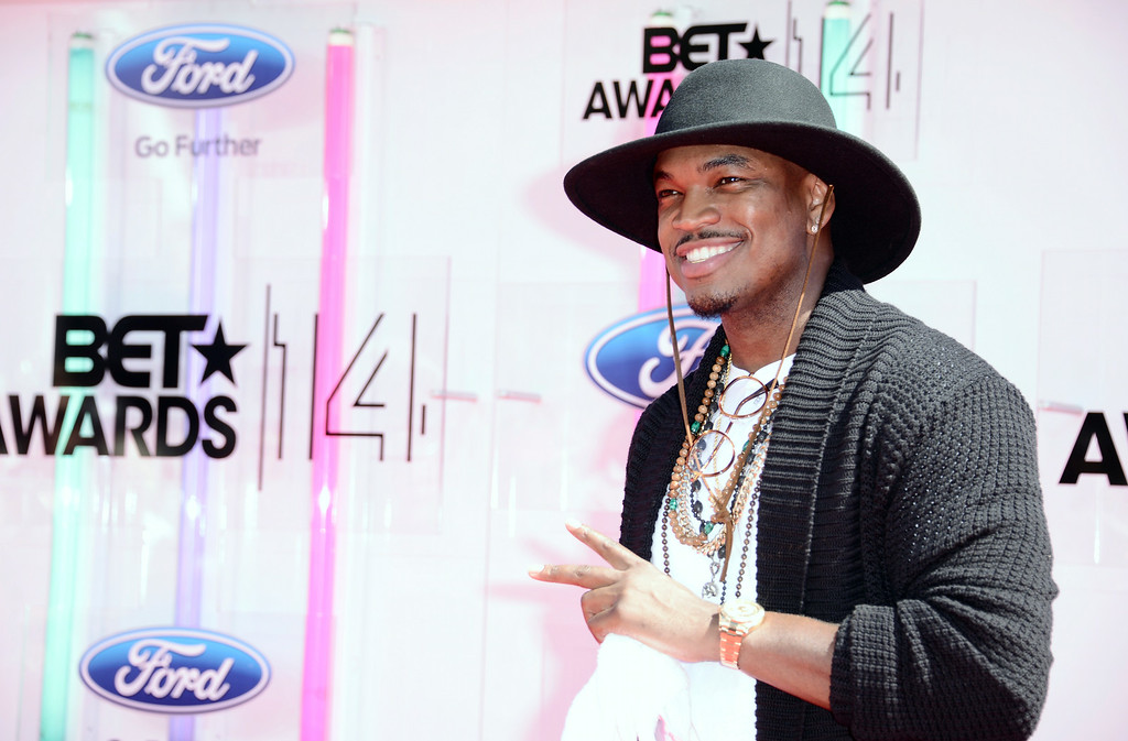 . Ne-Yo arrives at the BET Awards at the Nokia Theatre on Sunday, June 29, 2014, in Los Angeles. (Photo by Dan Steinberg/Invision/AP)