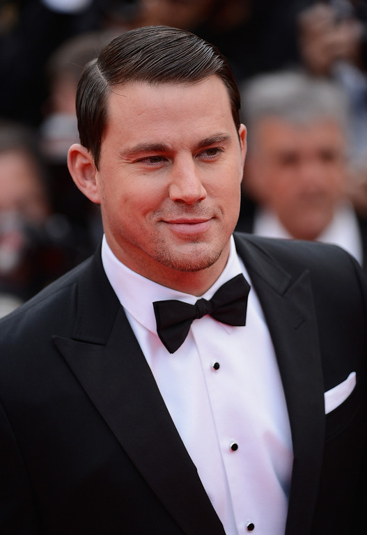 """. Channing Tatum attends the \""""Foxcatcher\"""" premiere during the 67th Annual Cannes Film Festival on May 19, 2014 in Cannes, France.  (Photo by Ian Gavan/Getty Images)"""