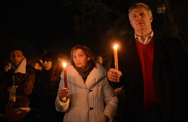 Photos: Vigils mourn Connecticut shooting victims
