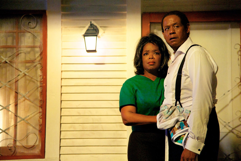 """. Oprah Winfrey as Gloria Gaines, left, and Forest Whitaker as Cecil Gaines in a scene from \""""Lee Daniels\' The Butler.\"""" (AP Photo/The Weinstein Company, Anne Marie Fox, File)"""