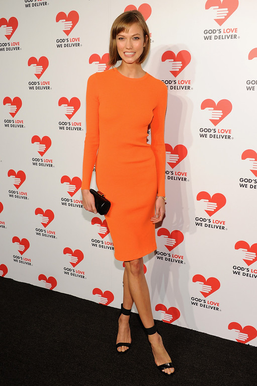 . NEW YORK, NY - OCTOBER 16:  Model Karlie Kloss attends God\'s Love We Deliver 2013 Golden Heart Awards Celebration at Spring Studios on October 16, 2013 in New York City.  (Photo by Dimitrios Kambouris/Getty Images for Michael Kors)