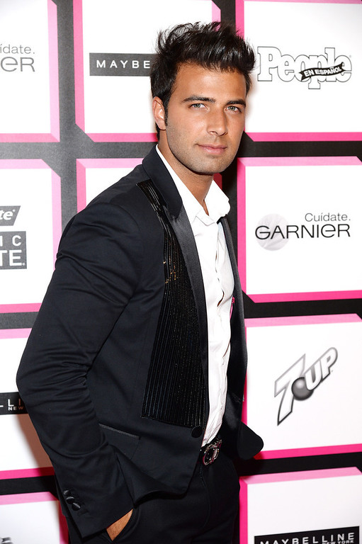 . Actor Jencarlos Canela attends People En Espanol\'s 50 Most Beautiful 2013 at Marquee on May 13, 2013 in New York City.  (Photo by Dimitrios Kambouris/Getty Images for People en Espanol)