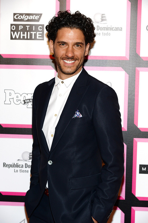 . Actor Erick Elias attends People En Espanol\'s 50 Most Beautiful 2013 at Marquee on May 13, 2013 in New York City.  (Photo by Dimitrios Kambouris/Getty Images for People en Espanol)