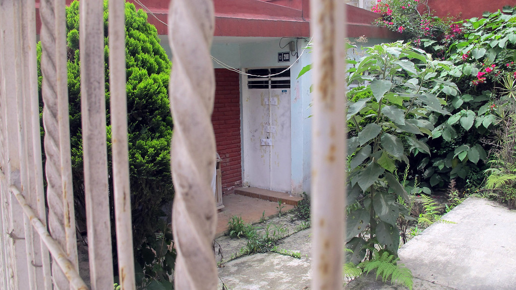 . Criminal assailants entered this home in Xalapa, a city in Mexico\'s Veracruz state, about a year ago and murdered Regina Martinez, a prize-winning reporter for the Proceso newsweekly magazine, April 12, 2013. (Tim Johnson/MCT)