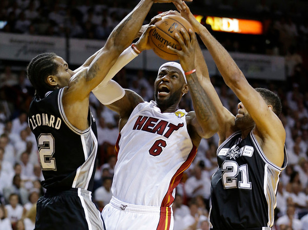 PHOTOS: NBA Finals Game 3 – Miami Heat v. San Antonio Spurs