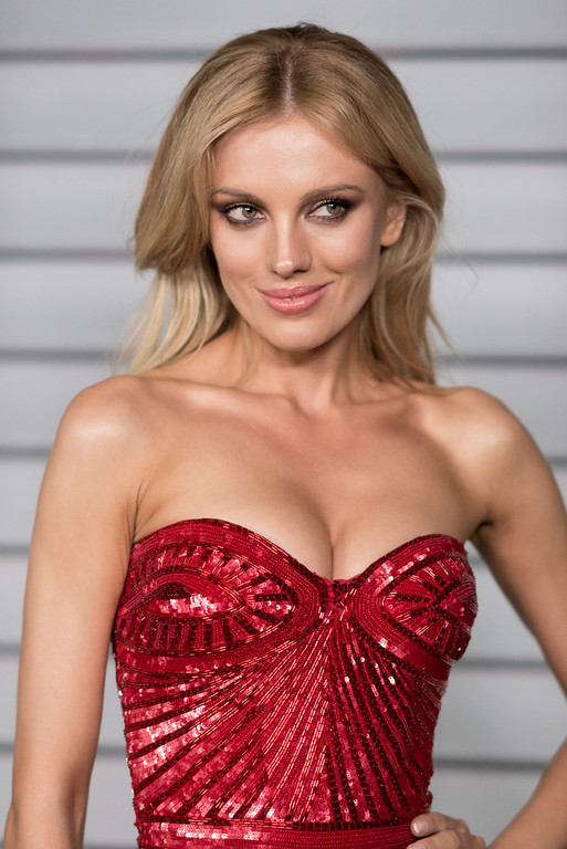 . Bar Paly arrives at the MAXIM Hot 100 Party on Tuesday, June 10, 2014 in West Hollywood, Calif. (Photo by Richard Shotwell/Invision/AP)