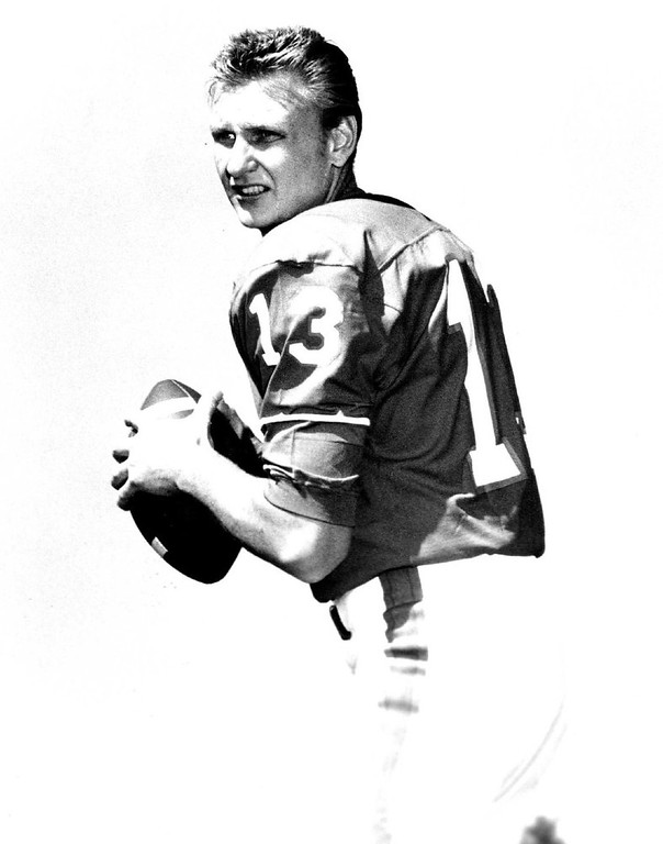 . Steve Tensi, Quarterback, 6-4, 210, Denver Broncos. (Photo from The Denver Post Archive)