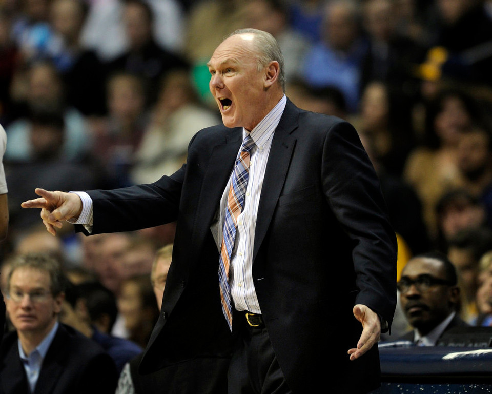 . Denver coach George Karl directed his attention towards an official in the second half. The Minnesota Timberwolves took a bite out of the Denver Nuggets winning 101-97 at the Pepsi Center Thursday night, January 3, 2013. Karl Gehring/The Denver Post