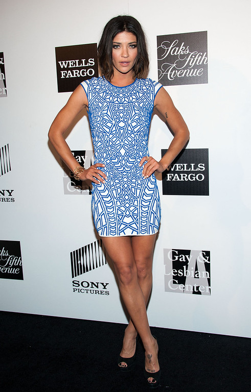 """. Jessica Szohr arrives at \""""An Evening\"""" Benefiting The L.A. Gay & Lesbian Center at the Beverly Wilshire Four Seasons Hotel on March 21, 2013 in Beverly Hills, California. (Photo by Valerie Macon/Getty Images)"""