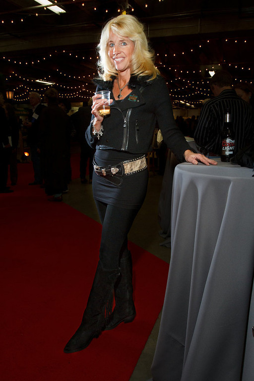 . Kathy May.  The 2013 Coors Western Art Exhibit and Sale Red Carpet Reception at the National Western Stock Show Complex in Denver, Colorado, on Tuesday, Jan. 8, 2013. Photo Steve Peterson