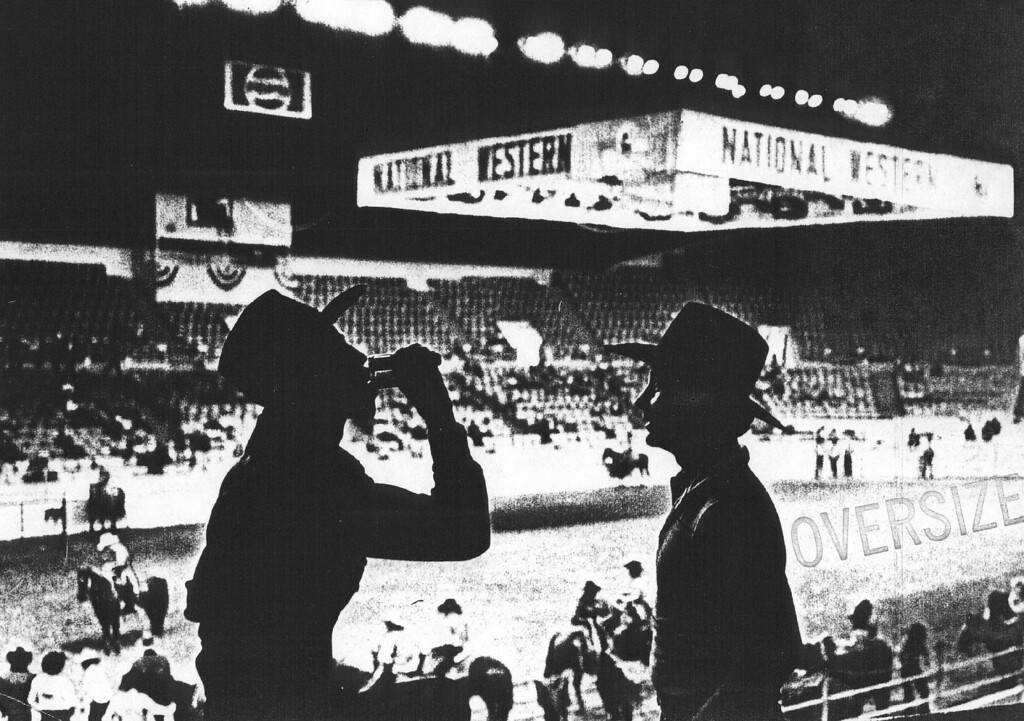 . National Western Stock Show, 1985. Denver Post Library photo archive