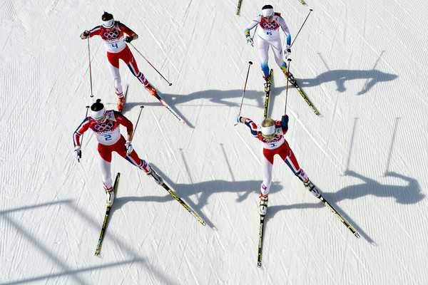 PHOTOS: Women's Cross-Country 30km Mass Start Free at Sochi 2014 Winter Olympics