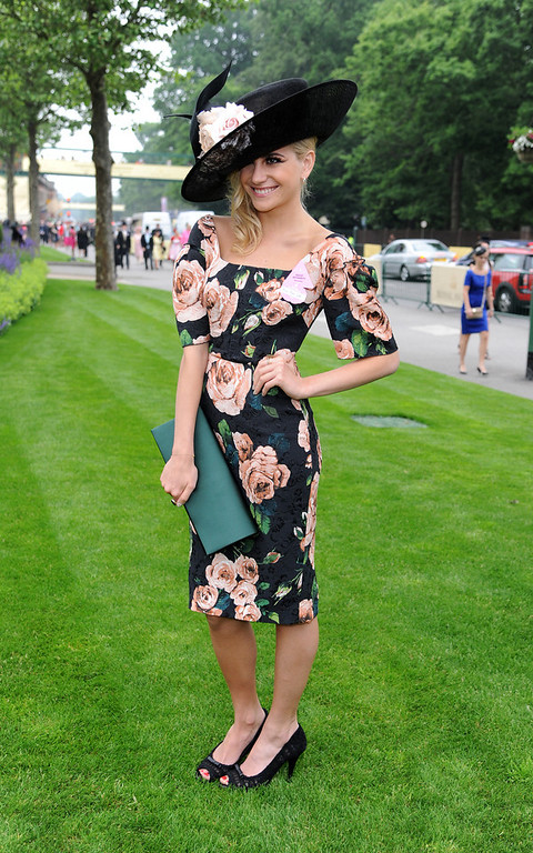 . Pixie Lott attends Ladies Day on Day 3 of Royal Ascot at Ascot Racecourse on June 20, 2013 in Ascot, England. (Photo by Eamonn M. McCormack/Getty Images)