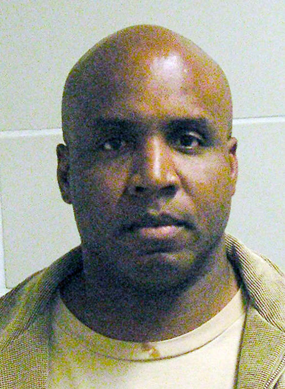 . In this Dec. 6, 2007, handout photo provided by the United States Marshall Service, Barry Bonds is shown in his booking mug from in Oakland, Calif.  A divided federal appeals court has dealt the federal government a significant setback in its prosecution of Barry Bonds on perjury charges. The 9th U.S. Circuit Court of Appeals ruled Friday that prosecutors may not present positive urine samples and other vital evidence that the government says shows that the slugger knowingly used steroids. (AP Photo/United States Marshall Service)